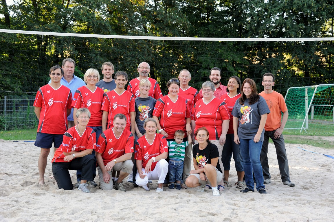 Volleyball Gruppe